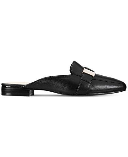 Alfani Kvinnor Aidaa Slip-on Loafer M Svart Läder 8,5 M