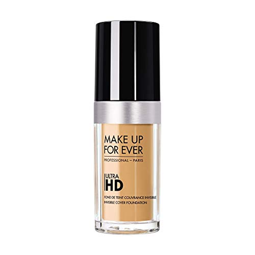 MAKE UP FOR EVER Ultra HD Foundation - Invisible Cover Foundation 30ml Y345 - Natural Beige (Makeup Forever Ultra Hd Invisible Cover Foundation Ingredients)