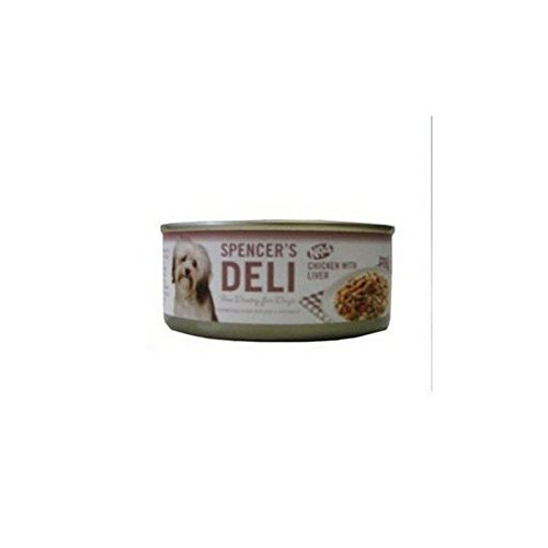 spencers-deli-chicken-with-liver-dog-food-tins-156g-pack-of-2