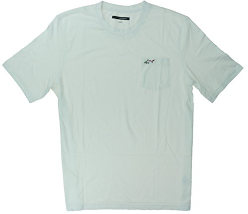 Greg Norman Men's 100% Cotton T-Shirt with Chest Pocket (XX-Large, (Chest Pocket Cotton T-shirt)