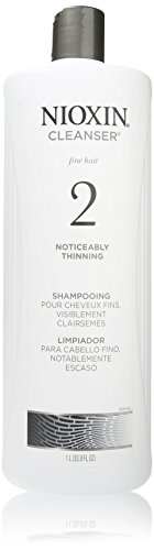 Nioxin System 2 (Fine/Noticeably Thinning) Cleanser (33.8 oz)