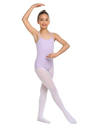 luxilooks Camisole Leotard for Girls' Dance Ballet Undergarment with Adjustable Straps 4-13 Years