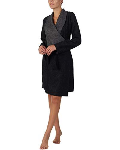 (Donna Karan Womens Long Wrap Robe,)