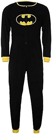 Oficial de Batman superhéroe pijama enterizo todo en uno para ...