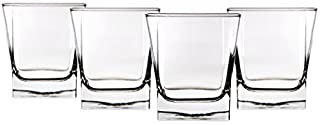 Home Essentials 591 Red Series Square 10 ounce Fashioned Glass, Set of Four (B002UDW9CM) | Amazon price tracker / tracking, Amazon price history charts, Amazon price watches, Amazon price drop alerts