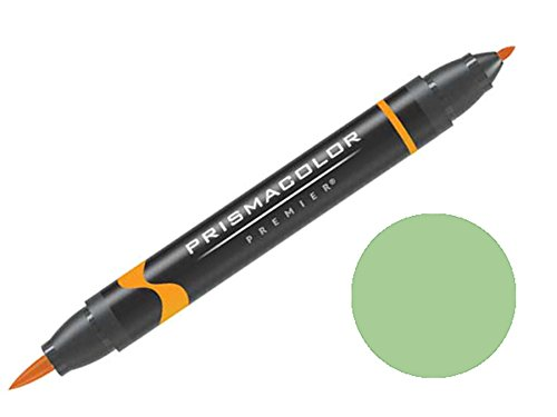 Prismacolor Premier Double-Ended Brush Tip Markers Apple Green 167 (1773225)