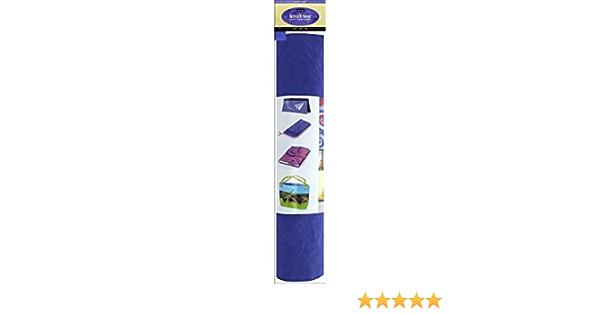 C/&T Publishing Kraft Tex 18.5x28.5 Roll C/&T Kraft Paper Fabric Blueiris