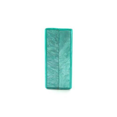sac bandoulière main couleur Green tout unie Party FZHLY marbré de soirée Banquet sacs gamme Lake Satchel à de Sac à fourre acrylique de haut qanA4Hxw1