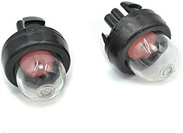 Vogueing Tool - Piezas de reparación para motosierra, carburador de aceite BulbsCarburador Snap in Primer bombilla bomba para Homeliter Sthil Ryobi Echo McCulloch/2pcs
