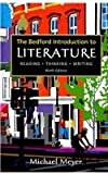 Bedford Introduction to Literature 9e and VideoCentral for Literature, Meyer, Michael, 0312643616