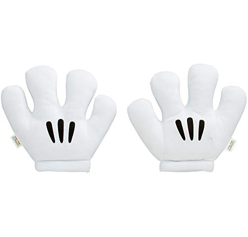 SUIT YOURSELF Mickey Mouse Gloves for Children, One Size, Polyester Accessories Look Just Like Mickey's 4-Finger Hands -