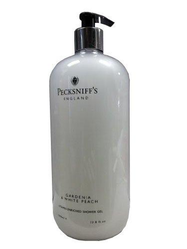Pecksniffs Gardenia & White Peach Vitamin Enriched Shower Ge