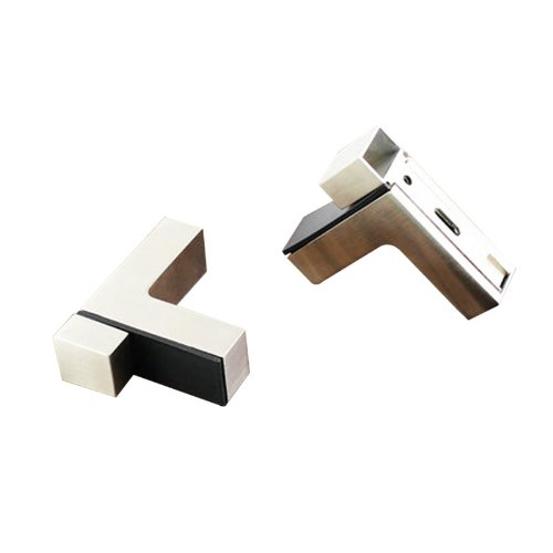 temax-new-brushed-silver-chrome-f-glass-board-shelf-clamp-with-screw-adjustment