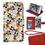 Onelee - Customized Disney Mickey Minnie Mouse Apple iPhone 7 TPU Case Cover - Black 04