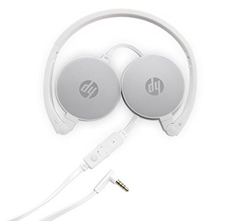HP H2800 (2AP95AA) Kopfhörer (kabelgebunden, 3,5 mm Anschluss) weiß / silber