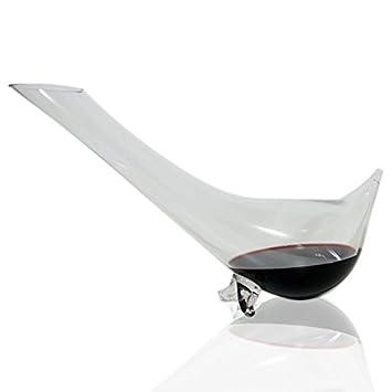 Avva pingüino forma vino Botellas de vidrio – 33 oz (1000 ml) regalo de
