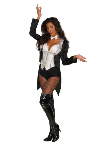 Secret Wishes Women's Dc Comics Adult Zatanna Costume, Black/White, (Female Magician Costume)