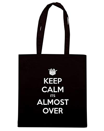 Speed Nera OVER Shopper ALMOST ITS Shirt KEEP CALM Borsa TKC2768 rxOqrwFZt