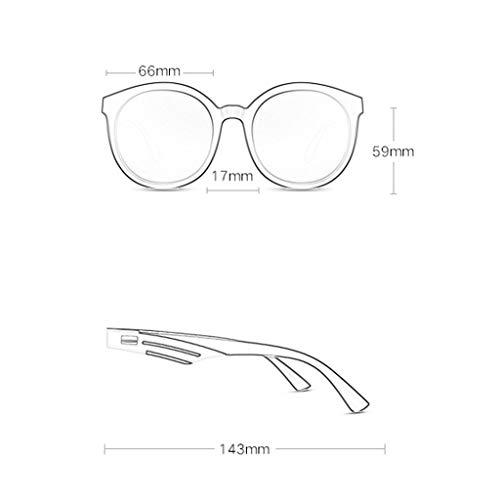 Ronde coloré Sport lunettes de soleil Femme à légère Monture Film Lunettes Couleur de Soleil polarisées Des A D 6Pnfqdxf