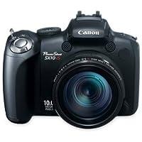 CNMSX10ISPWERSH - Canon Digital Camera, 10MP, 20x Optical/4x Digital, 2-1/2quot; LCD, Black