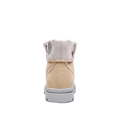 Miyoopark UK-XCR1328A, Herren Stiefel, Beige - Beige - Größe: 38 EU