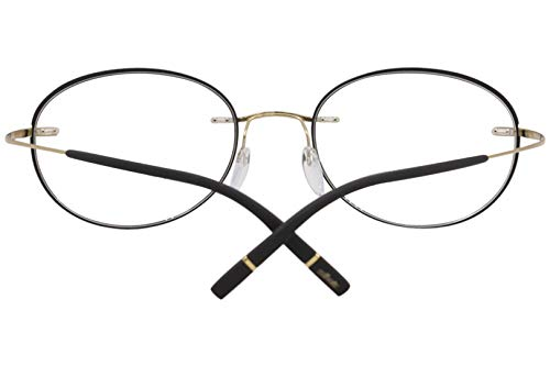 664058e0413 Amazon.com  Silhouette Eyeglasses Titan Minimal Art Icon Accent Rings FZ  5518 7530 Frame  Clothing
