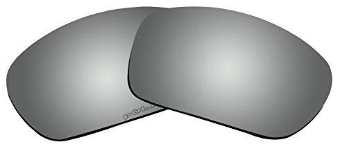 BVANQ Polarized Lenses Replacement for Oakley Scalpel Sunglasses Lenses (Black - Scalpel Replacement Oakley Lenses