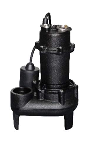 1/2 HP Cast Iron Sewage Pump