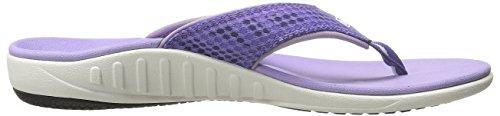 Purple Flop Sandal Varsity Spenco Women's Flip Breeze 7YxaHq4