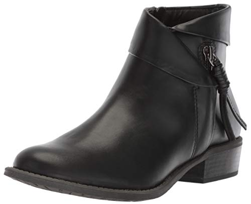 Mountain Ankle Boot Womens - WHITE MOUNTAIN Women's Driver Ankle Boot Black/Smooth 7.5 M US