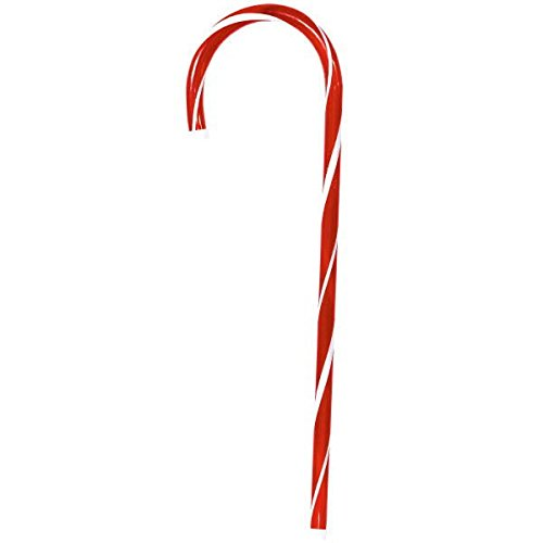 Candycane Christmas Decoration | Plastic (Candy Canes Decorations)