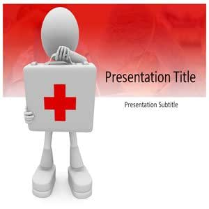 First Aid Powerpoint Template - First Aid Powerpoint (Ppt) Templates - Powerpoint Slides on First Aid
