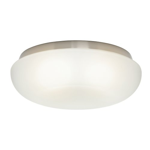 Casablanca Fan Company 99073 Cased White Indented Globe for Low Profile Fitters (Pendant Casablanca Glass)