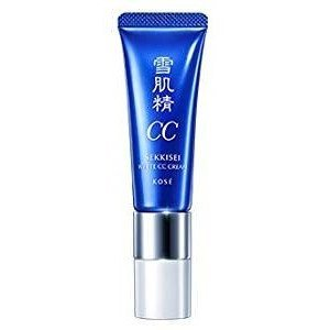 KOSE Sekkisei White CC Cream 30g 01 Bright Skin Color (Sekkisei Essence Kose)