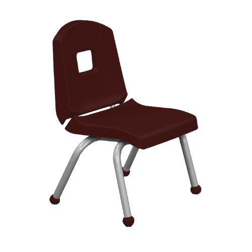 Burgundy Pail (Creative Colors 14CHRB-BR-BM Split-Bucket Chair, Ball Glides, 14