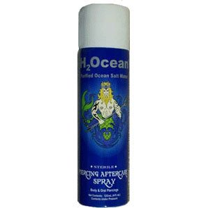 H2Ocean Piercing aftercare, 4oz by TattooEZone tattoo supplies (Image #1)