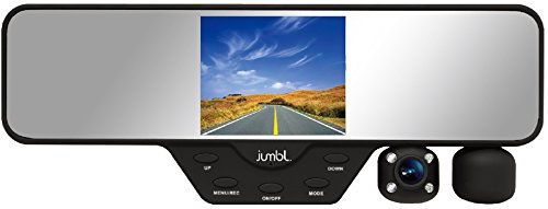 jumbl-dash-cam-car-rear-view-mirror-dual-camera-hd-1080p-clips-on-easily-onto-existing-mirror-interi