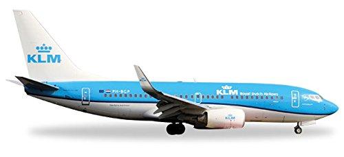 Herpa Wings 530200 KLM Boeing 737-700 'PH-BGP' 1/500 Scale Diecast Model
