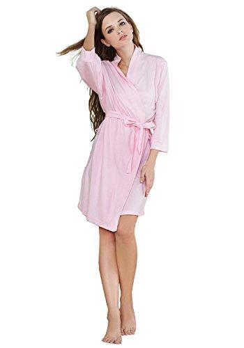Women's Comfort Cotton Bathrobe