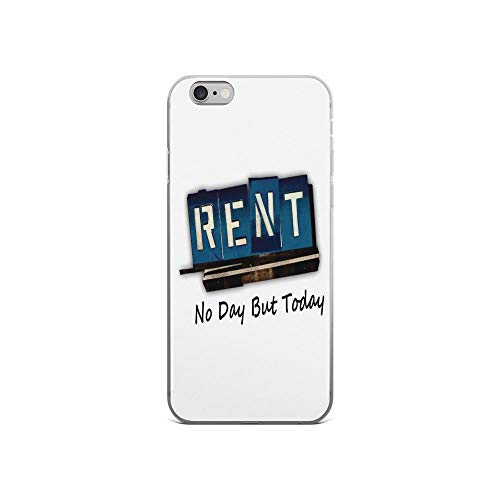 iPhone 6 Case iPhone 6s Case Cases Clear Anti-Scratch Rent The Musical, Rent Cover Case for iPhone 6/iPhone 6s, Crystal Clear ()