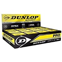 Pelota de squash Dunlop 2puntos amarillo