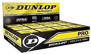 Balle de Squash Dunlop 2 points jaune