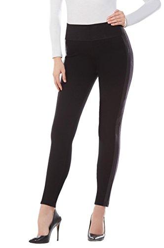 Snakeskin Tuxedo Stripe Leggings Black S for sale  Delivered anywhere in USA