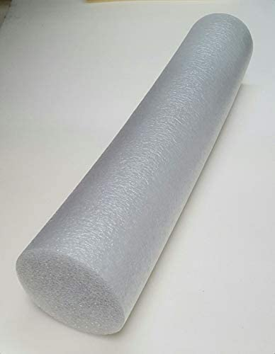 Yoga Exercise PE Foam Firm Round Bolster Roller 8 D x 36