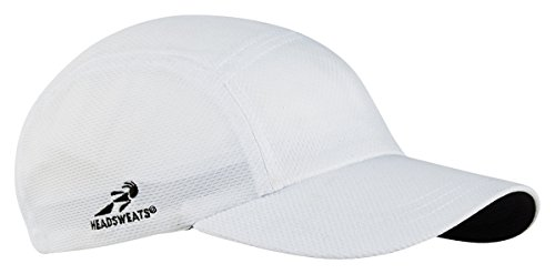 - Team 365 Headsweats Performance Race Hat, White, One Size