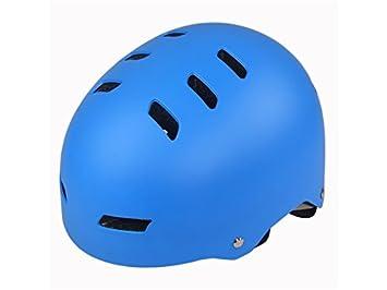 Plsonk Único Casco de Seguridad para niños Casco de Seguridad para niños (Azul) para