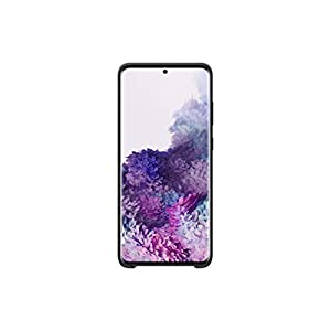 Samsung Original Galaxy S20+ 5G Silicone Cover/Mobile Phone Case – Black