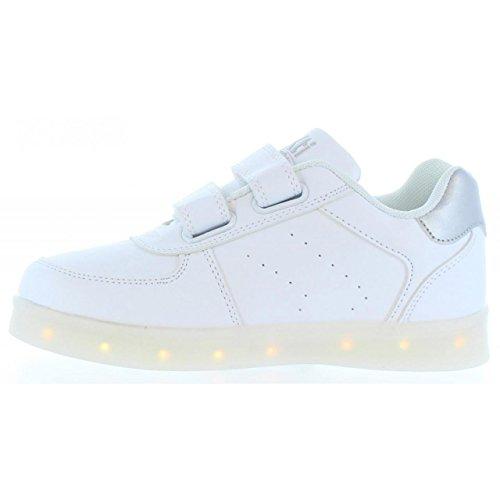 Chaussures de sport pour Garçon et Fille XTI 54623 C BLANCO-PLATA