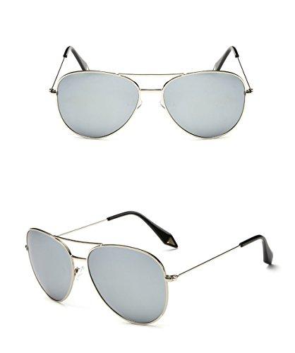 Marco 5 de Lente Gafas Película Espejo 7 Gafas de Gafas Gran polarizada Color Vintage amp;Gafas personalidad de protecciónn sol amp; X9 PwCx6ZRqZ