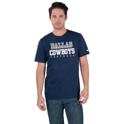 - Nike Men's Dallas Cowboys Legend Practice T-Shirt (Navy, 4XL)